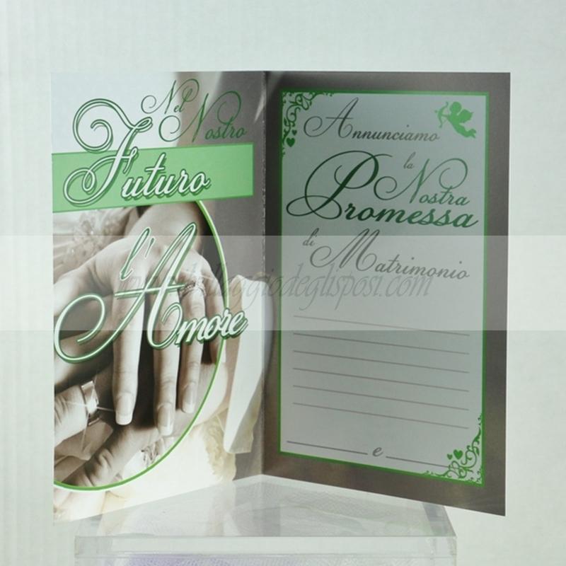 Vendita Online Biglietto D Auguri Per Promessa Matrimonio