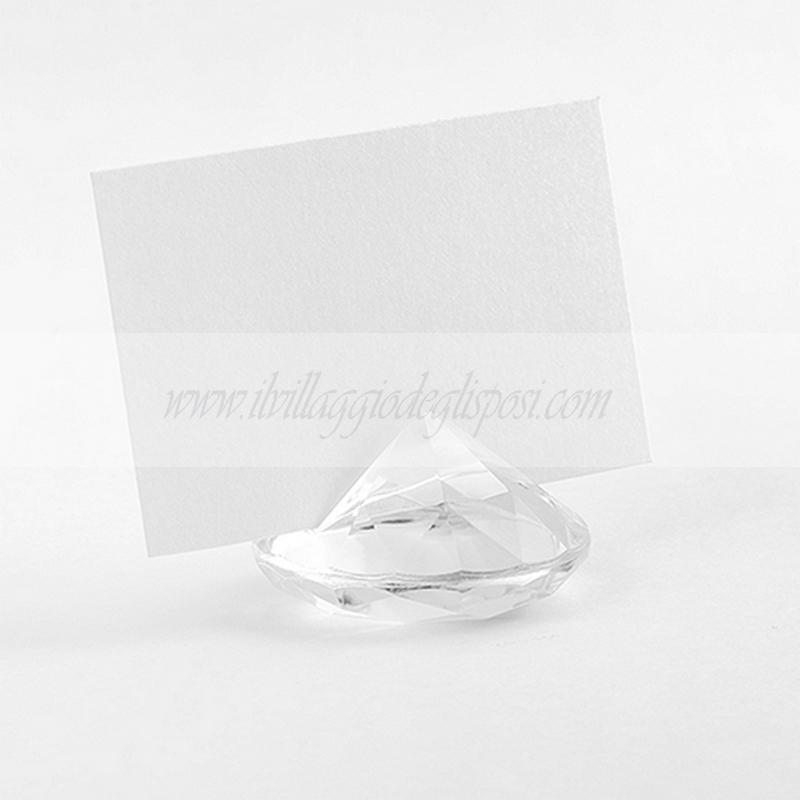 Tableau Matrimonio Tema Diamanti : Vendita online segnaposto o segnatavolo a forma di diamante vari
