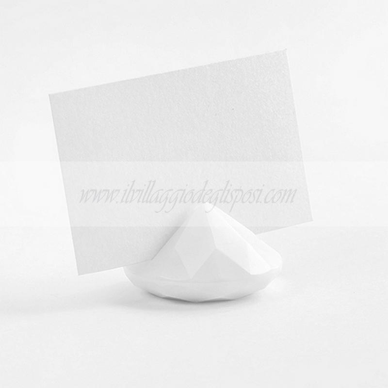 Vendita online segnaposto o segnatavolo a forma di for Soggiorno a forma di diamante
