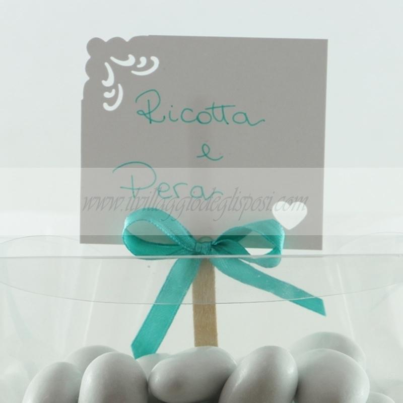 Amato Vendita online Segnagusto per confetti e caramelle personalizzabile SM49