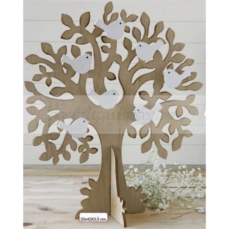 vendita online tableau albero della vita in legno