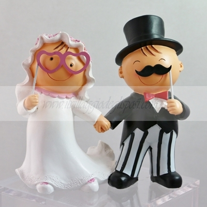 Cake topper Pit&Pita photobooth