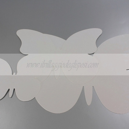 30 farfalle decorative TORTORA
