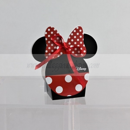 Linea DISNEY - MINNIE MOUSE linea RED&BLACK