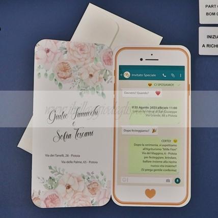 Partecipazioni Matrimonio Whatsapp.Partecipazioni Il Villaggio Degli Sposi