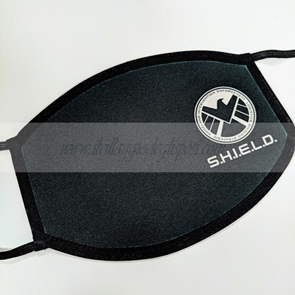 Mascherina lavabile con grafica AGENT OF SHIELD (Adulti o bimbi)