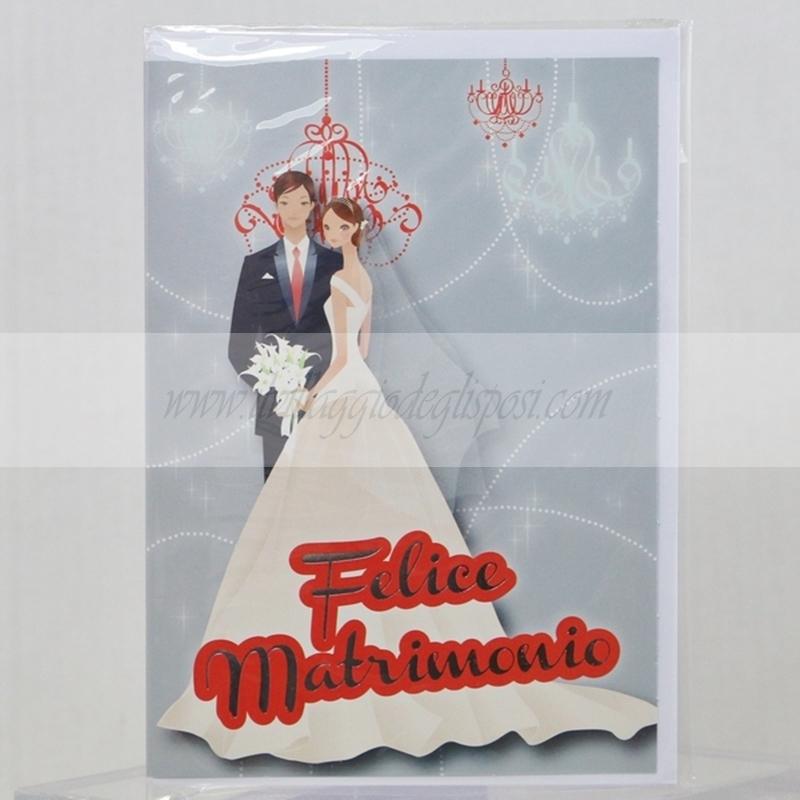 Auguri Matrimonio Vintage : Vendita online biglietto d auguri per matrimonio felice matrimonio