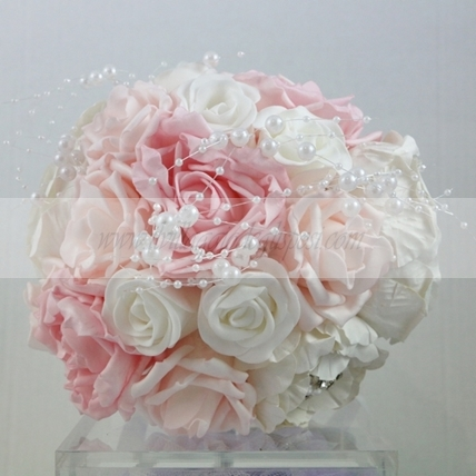 Bouquet artificiale shabby chic