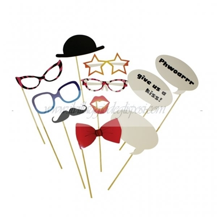 Kit 11 accessori per photo booth