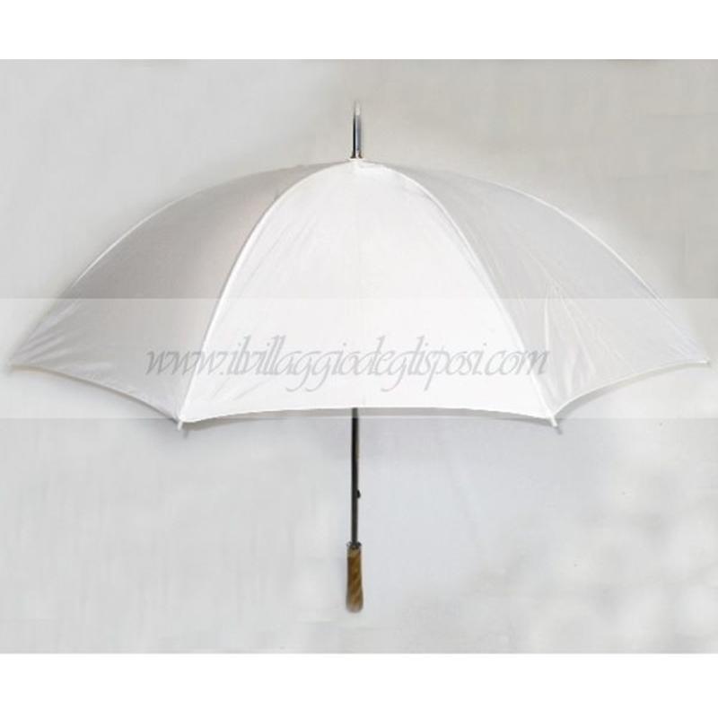 e003c87d2e43 Vendita online Ombrello da sposa bianco e struttura in metallo