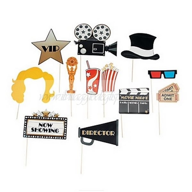 Photo booth tema cinema