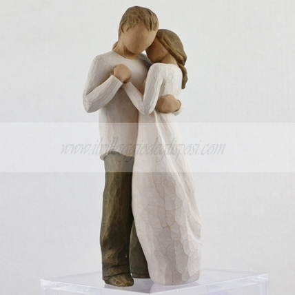 "Cake topper Willow tree - ""Promise"""