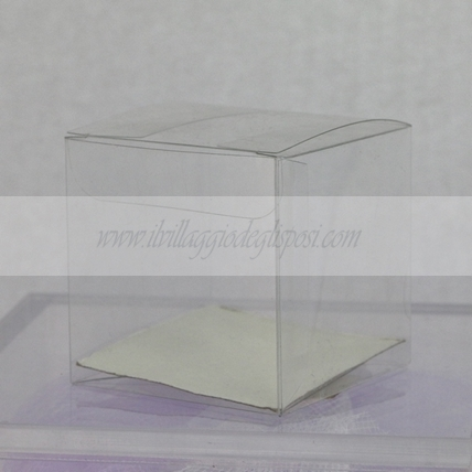 Scatolina in pvc cubo 6x6x6