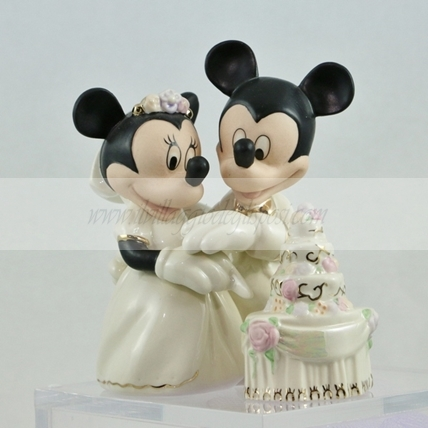 Walt Disney Minnie e Topolino con wedding cake