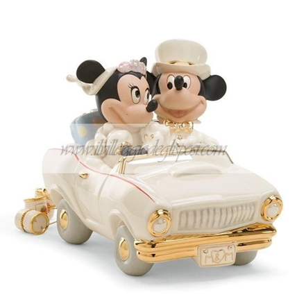 Walt Disney Minnie e Topolino in auto
